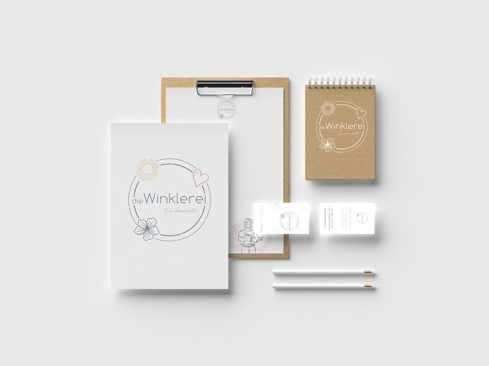 sternloscreative | Logo Design | Geschäftsdrucksorten | Die Winklerei