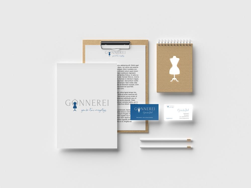 sternloscreative | Logo Design | Geschäftsdrucksorten | Gönnerei