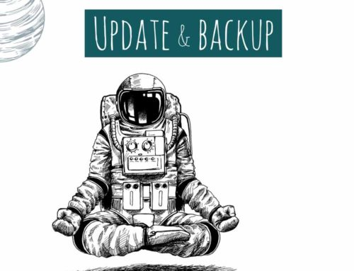 Update & Backup – WordPress