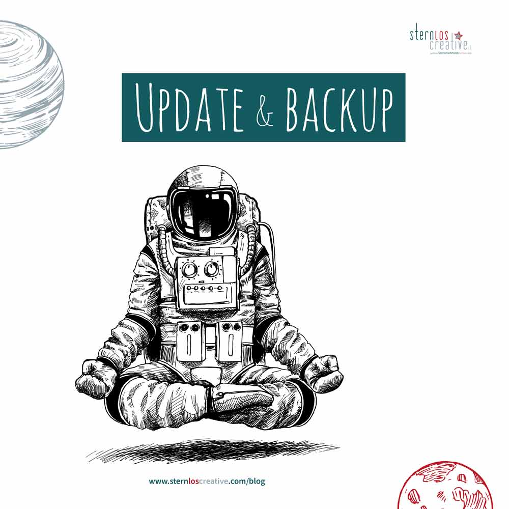 Blogartikel | Update & Backup der Website