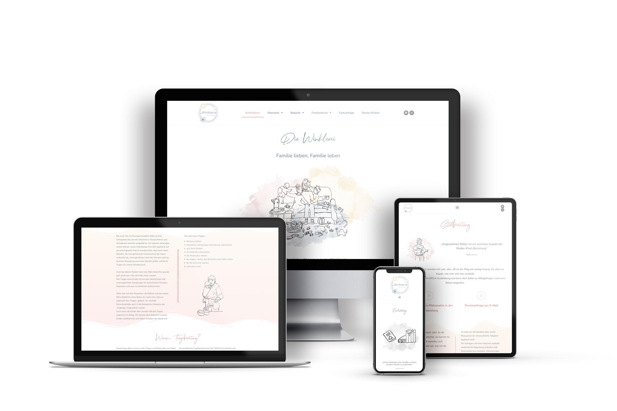 Webdesign plus Logo & Corporate Design - dieWinklerei