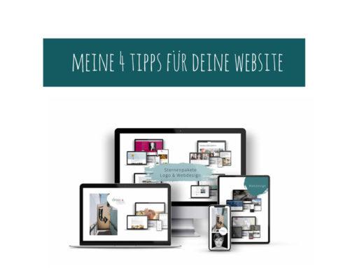 Meine 4 Tipps für deine Website?