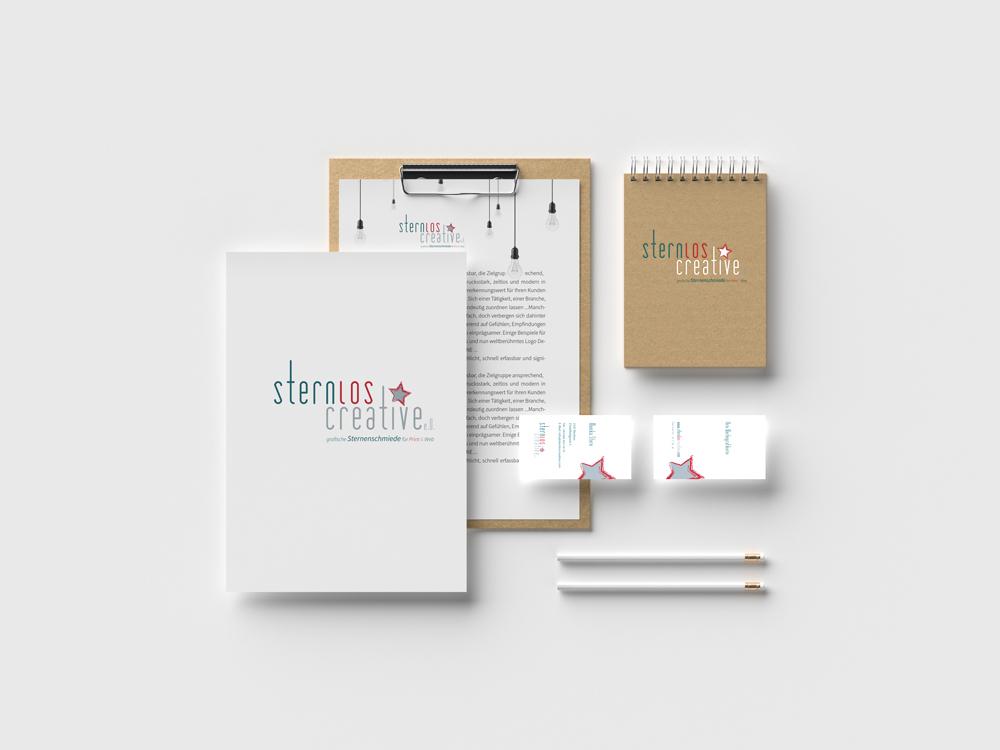 Logo Design aus der grafischen sternenschmiede sternloscreative