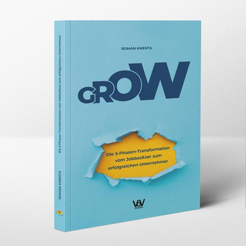 Cover & Buchblock Design | Roman Kmenta